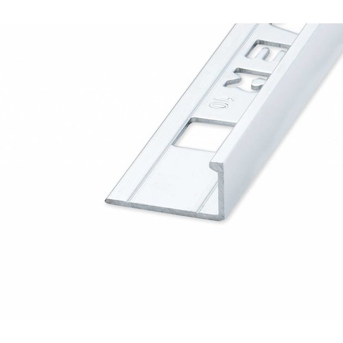 Tegelprofiel Eltex rechthoekig glanzend zilver