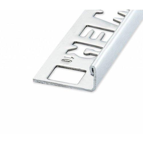 Tegelprofiel Lynox rechthoekig RVS geborsteld