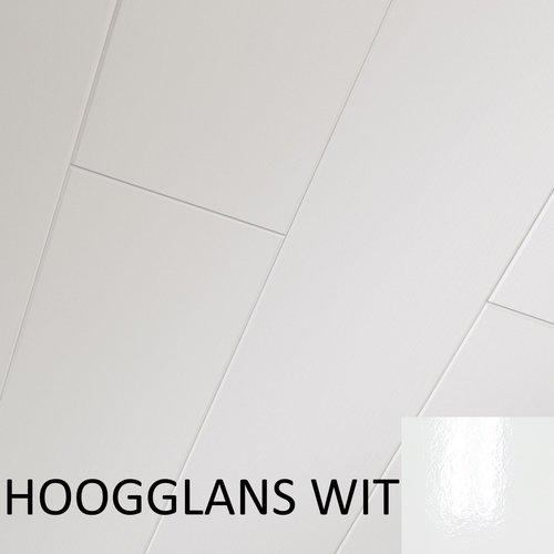 Plafondpanelen MDF Sanimex Hoogglans Wit 260 cm x 28,5 cm x 1,2 cm (Doosinhoud: 2,26 m2)