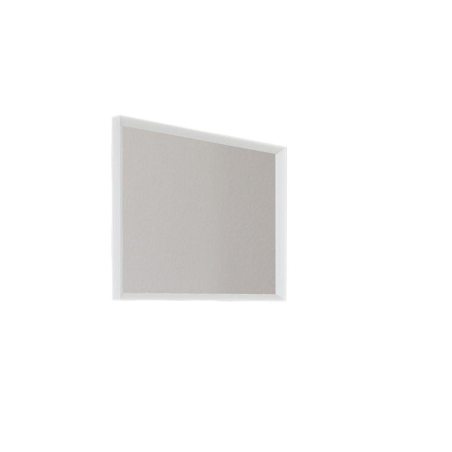 Badkamerspiegel Allibert Delta Met Kader 80x60x4.8 cm Mat Wit