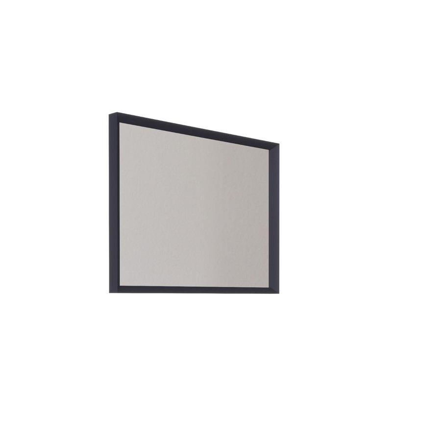 Badkamerspiegel Allibert Delta Met Kader 80x60x4.8 cm Pruisisch Blauw