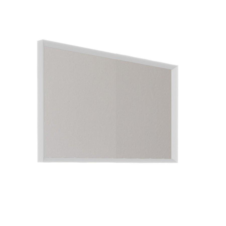Badkamerspiegel Allibert Delta Met Kader 100x60x4.8 cm Mat Wit