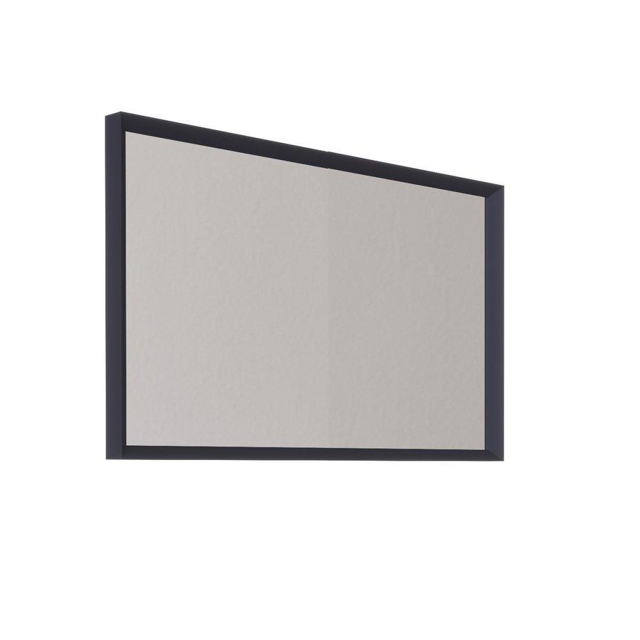 Badkamerspiegel Allibert Delta Met Kader 100x60x4.8 cm Pruisisch Blauw