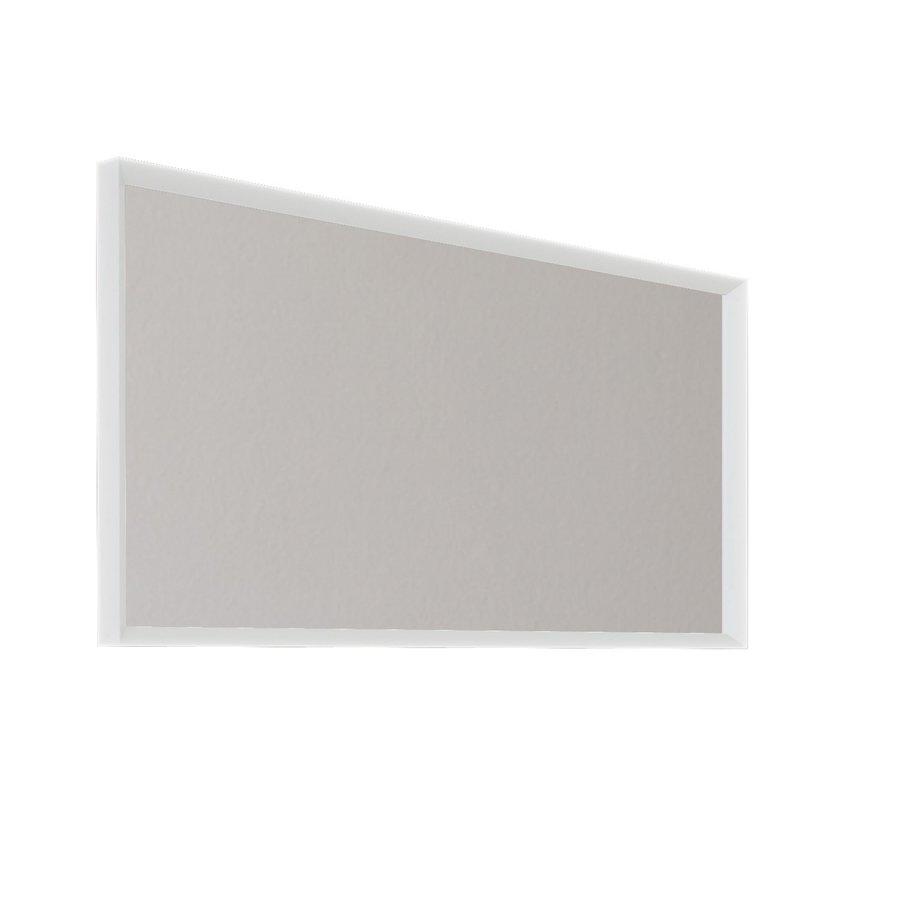 Badkamerspiegel Allibert Delta Met Kader 120x60x4.8 cm Mat Wit