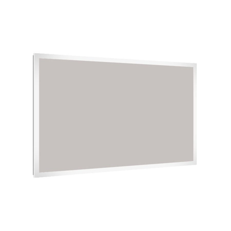 Badkamerspiegel Allibert Kold LED Verlichting Rechthoek 120x80x3 cm
