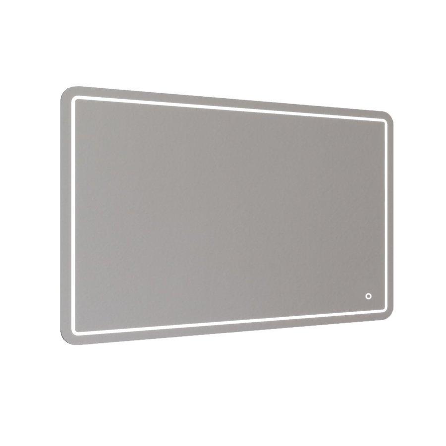 Badkamerspiegel Allibert Kruz LED Verlichting 36 W Rechthoek 120x80x3 cm