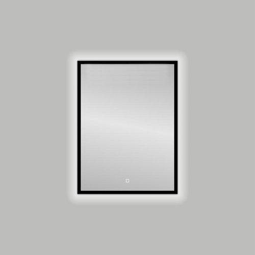 Badkamerspiegel Best Design Nero LED Verlichting 60x80 cm Mat Zwart