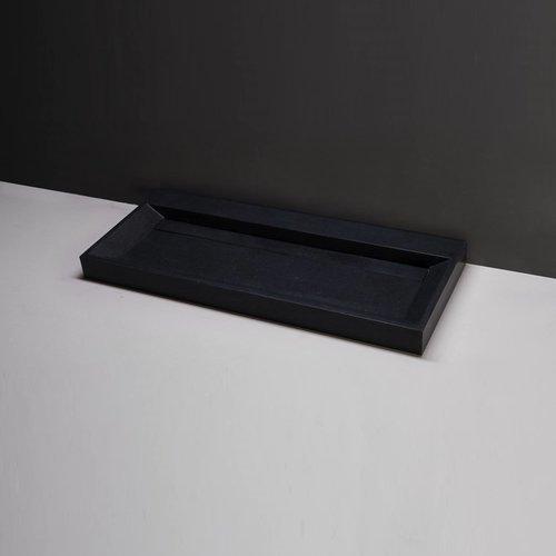 Wastafel Forzalaqua Bellezza Graniet Gezoet Zonder Kraangat 100,5x51,5x9 cm
