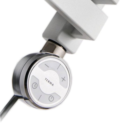 Elektrisch Thermostaat Radiator MOA 300W tbv Handdoekradiator Sapho Dorlion Chroom
