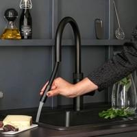 Quooker Flex Keukenmengkraan Zwart