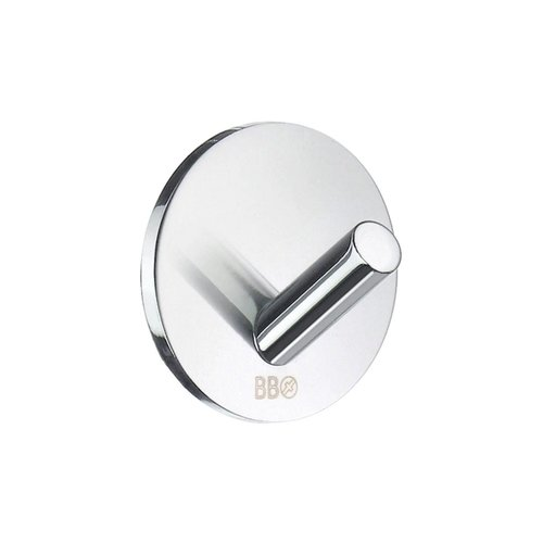 Haak Smedbo Xtra Design Mini 4 Stuks Rond Zelfklevend Chroom