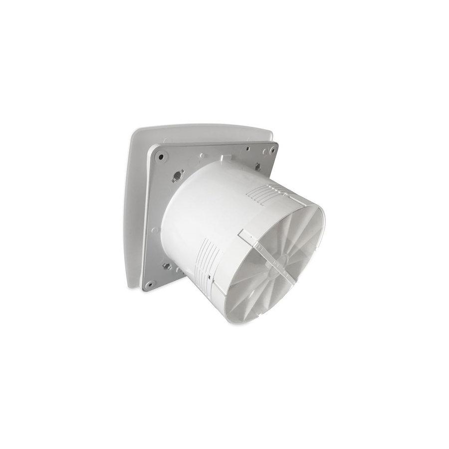 Badkamer Ventilator Pro Design Standaard 125mm 170 m3 Bold Line Wit