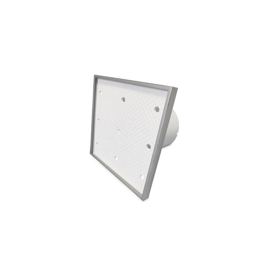Badkamer Ventilator Pro Design Nalooptimer 125mm 170 m3 Tegelfront Kunststof