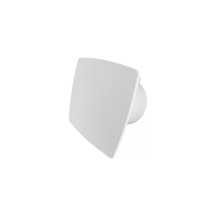 Badkamer Ventilator Pro Design Standaard Trekkoord 125mm 170 m3 Bold Line Wit
