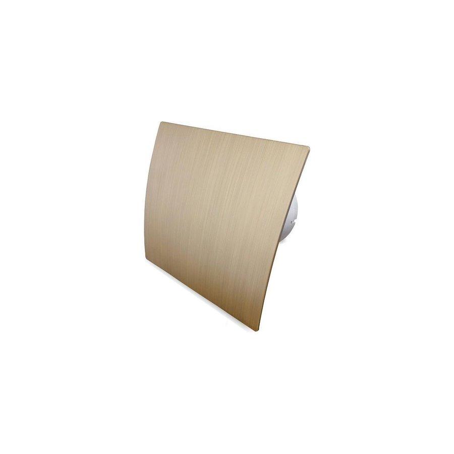 Badkamer Ventilator Pro Design Standaard Trekkoord 125mm 170 m3 Goud Kunststof