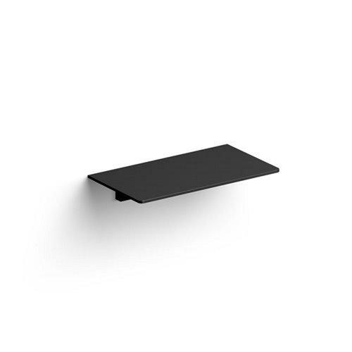 Clou Sjokker Telefoon Douche Planchet Wandmodel Mat Zwart 18x10x3.3cm