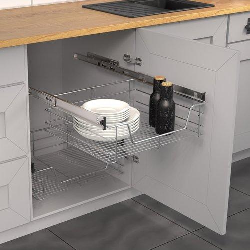 Telescopische Lade Schutte Geschikt Voor Keukenkasten 60 cm