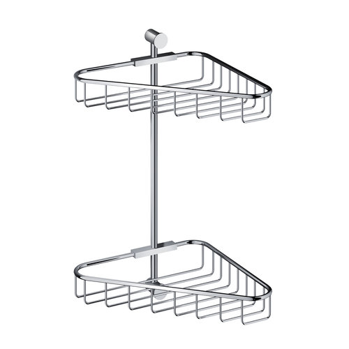 Hoekdraadkorf Hotbath Cobber Dubbel Wandmodel (15 Verschillende Kleuren)