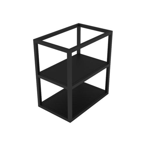 Frame tbv Arcqua Luna Onderkast Aluminium Mat Zwart