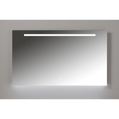 Badkamerspiegel Xenz Bardolino 160x70 cm met Ledverlichting en Spiegelverwarming