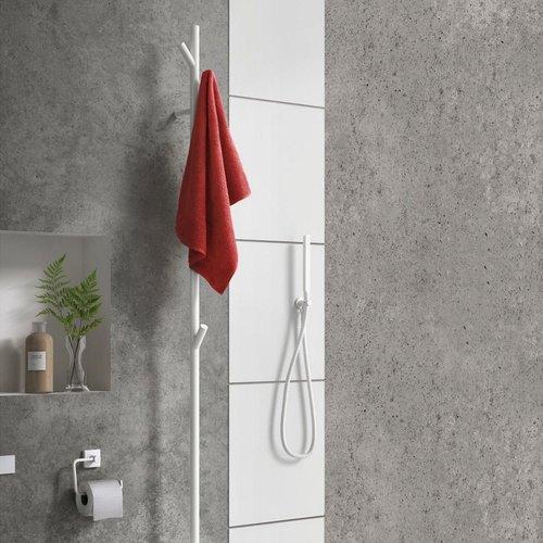 Elektrische Handdoekradiator Smedbo Dry Tree 10,7x170 cm 31W Wit