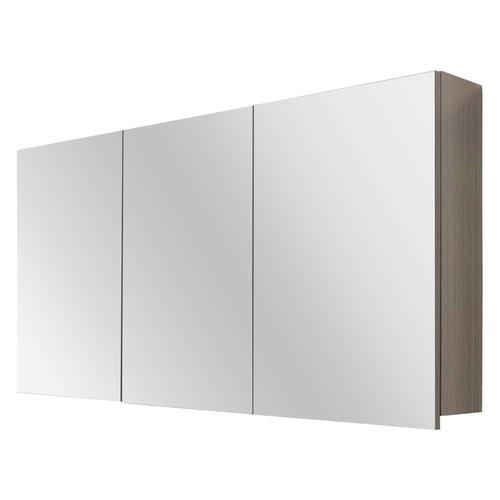 Spiegelkast Differnz Style 120x60cm Grijs Eiken