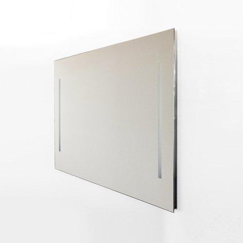 Wandspiegel Van Marcke Quadro Met Verticale LED Verlichting Met Schakelaar 60x70 cm Glas