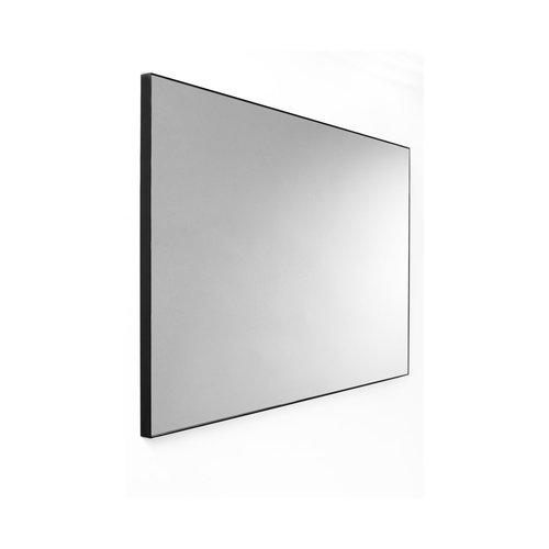 Wandspiegel Van Marcke Frame Zonder Verlichting 90x70 cm Glas En Zwart Aluminium Kader