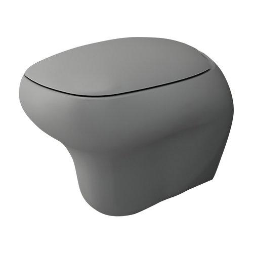 Toiletpot Creavit Bocchi Fenice Mat Grijs (Excl Zitting)
