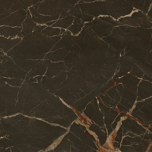 Vloertegel Navarti Exedra Brown Glans 120x120 cm (prijs per m2)
