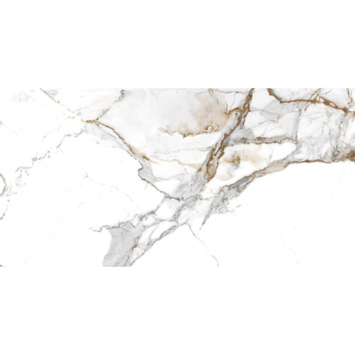 Vloertegel Navarti Aeris Marmerlook Glans 60x120 cm (prijs per m2)