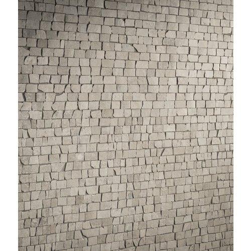 Mozaïek Kronos Le Reverse Broke Antique Dune Mat 30x30 cm (prijs per m2)