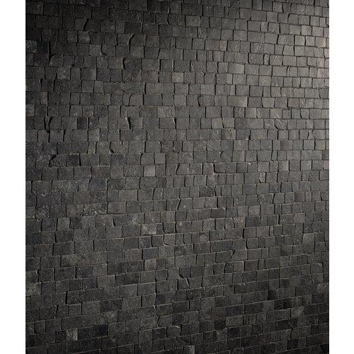 Mozaïek Kronos Le Reverse Broke Antique Nuit Mat 30x30 cm (prijs per m2)