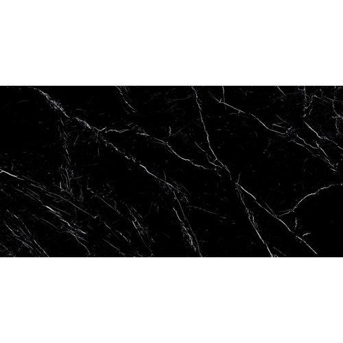 XL Vloertegel Energieker Ekxtreme Levigato Marquina Black Glans Zwart 120x270 cm (3.24 per tegel)