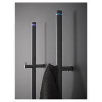 Elektrische Radiator Stick Instamat Jay 172x5 cm Messing Goud