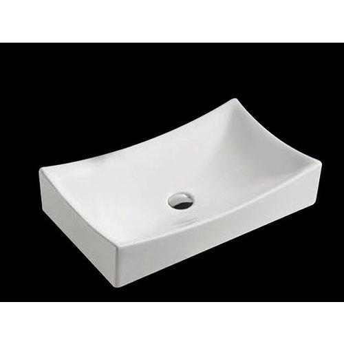 Keramische wastafel Dicta 65x39,5x13,5 cm