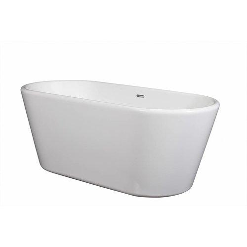 vrijstaand ligbad Gloria 180x85x46 cm wit