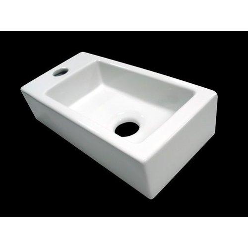 Fontein Mini-block links 36x18x9 cm
