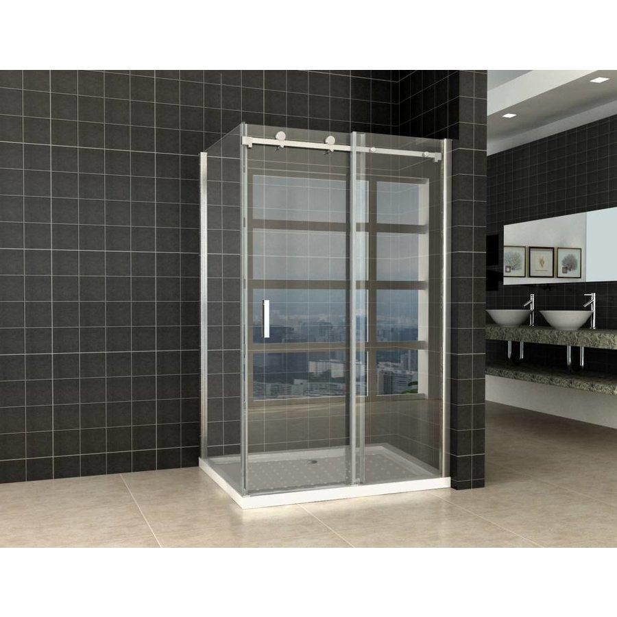 Douchecabine Schuifdeur 120X100X200 Cm 8 Mm Glas Met Nano Coating