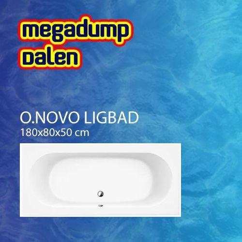 Ligbad O.novo 180x80x50 cm wit