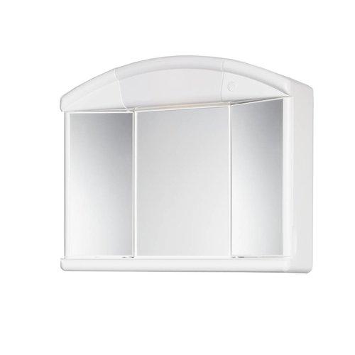 Naty Toiletkast / Spiegelkast 59X50X16 Cm Wit