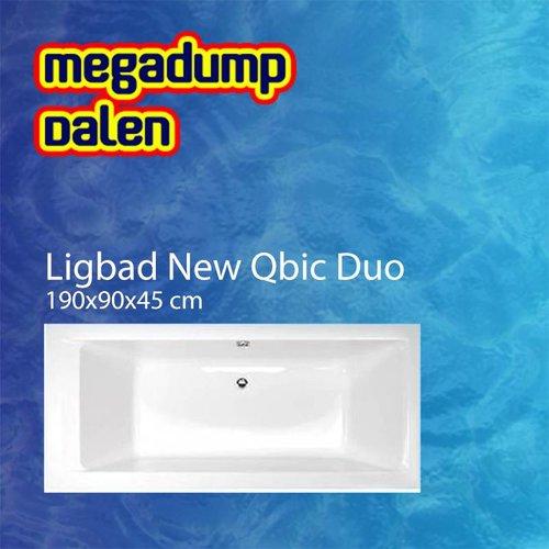 Ligbad New Qbic duo 190x90x45 cm