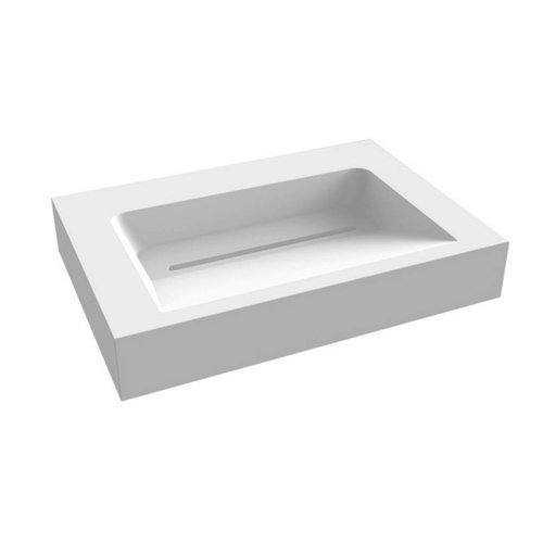 Wastafel Indoor Just Solid Surface 60x46x13cm