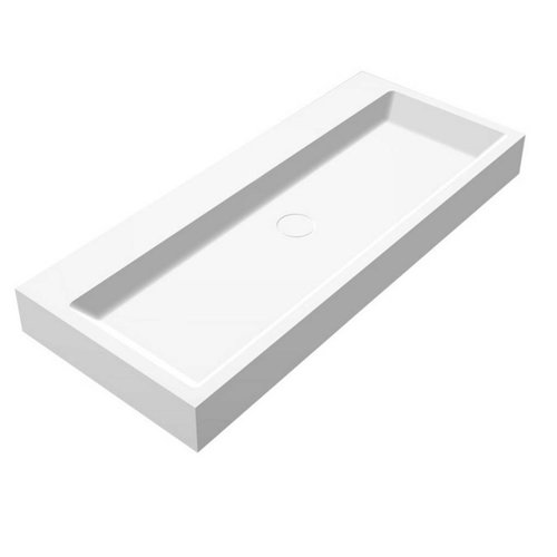Wastafel Opera-100 Just Solid Surface 100x42x10cm