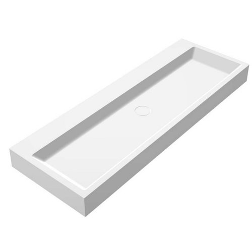 Wastafel Opera-120 Just Solid Surface 120x50x11cm