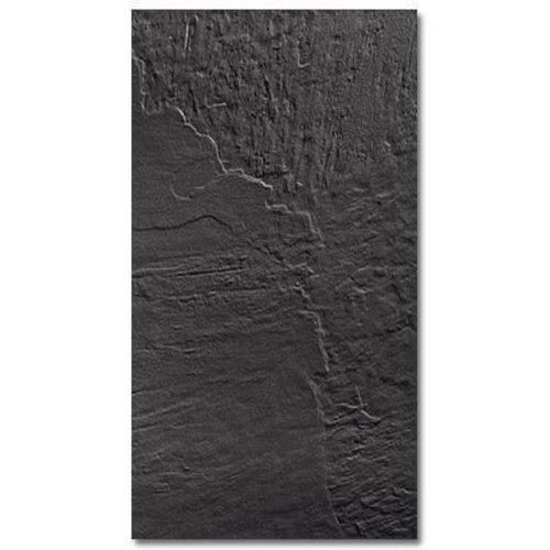 Vloertegel Almeria Negra 33x60cm (prijs p/m2)