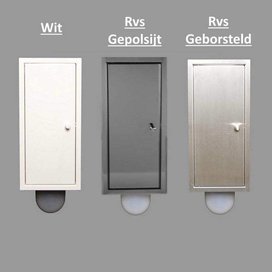 Inbouw Toilet borstel Brush-Up (3 kleuren verkrijgbaar)