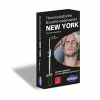 Regendouche New York chroom