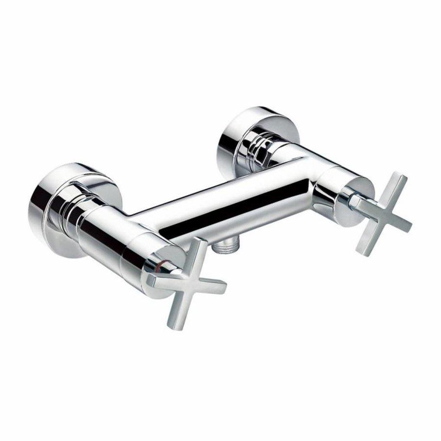 Douchekraan Best Design New-Jax Hart-op-Hart 15 cm Chroom