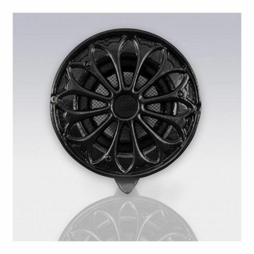 Deurrooster Retro Rond Extra Luchtdoorlaat 18.5 cm